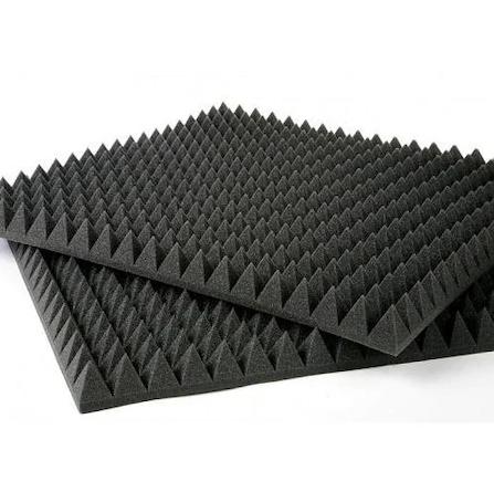 İŞBİR - Akustik Piramit Sünger-10 Adet-50x50x3 cm