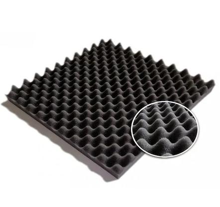 İŞBİR - Akustik Yumurta Sünger-10 Adet-50x50x4 cm