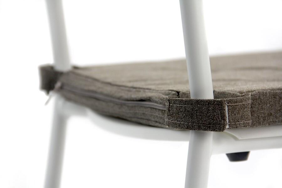 Sandalye Minderi 5 Puntolu Kahve